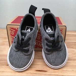 NEW in box! Toddler Vans Sneakers, Size 4T